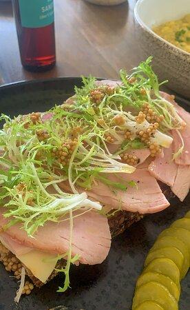 The Farmer Plate - fresh ham