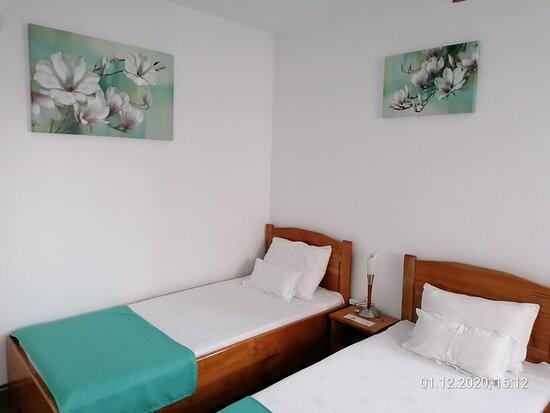Green mint twin room ground floor