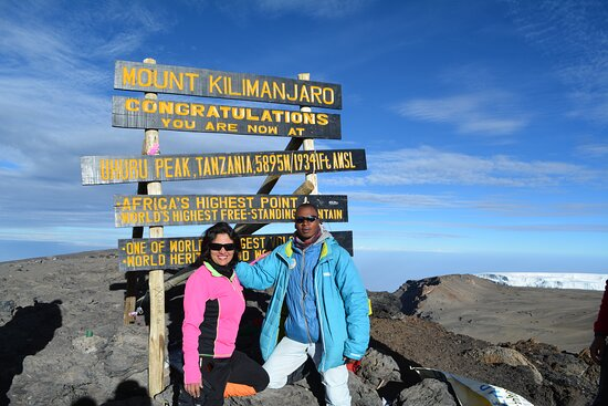 6 Days Machame Route: This was taken on Jan1,2018 with the most amazing guide Mohamed who will guide and take care of you for the entire trip!!