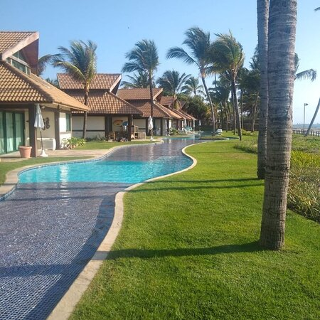 Flat maravilhoso com vista para piscina ,bem confortável minha família adorou