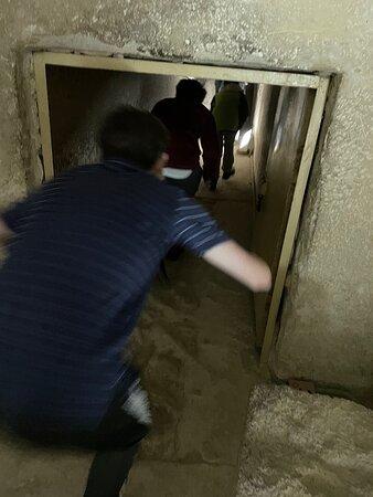 Entering the Pyramids (we did Teti's and the Great Pyramid at Giza)