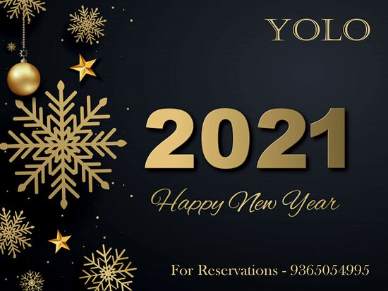 Wishing You all a very Happy New Year 🍾🍾🍾🍾🍾 For Reservations kindly Contact - 9365054995 Do follow us on instagram - youonlyliveoncedib #smile #eat #laugh #talk #kiss #drink #shout #dj #party #youonlyliveonce 😊🍽😀😌😘🍺😜💃💞