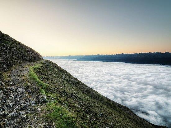 Wandern am Goetheweg über Innsbruck