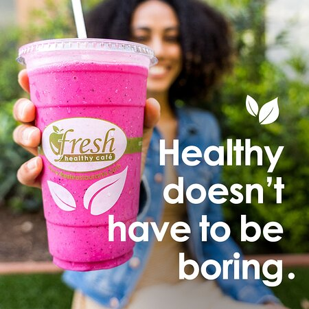 Erie, PA: Fresh Healthy Cafe can help you keep those New Year's 'Eat Better' resolutions.  Why not start your day with one of our Fresh Healthy Smoothies?  Born from Fresh Fruits & Vegetables and packed with vitamins and nutrients.   Order online for pickup or delivery, all day every day.