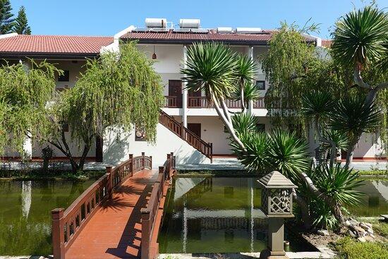 Palm Garden Resort - jezírko u standardních pokojů