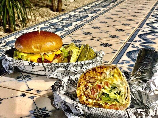 Burritos y Hamburguesas !!