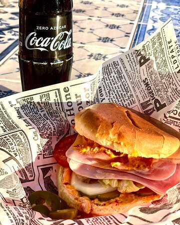 Sandwich Americano !! Con picantee