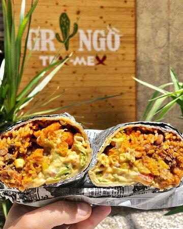 Burrito Gringo Con Cheetos !!
