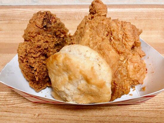 Fried Chicken n Biscuit