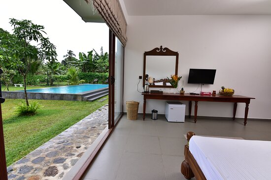 The Walkout with pool view
