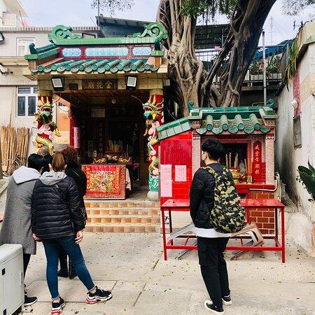 Peng Chau Kam Fa Temple