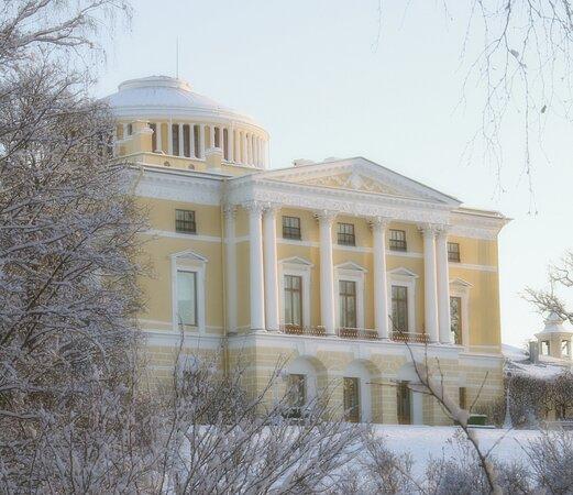 قصر وحديقة بافلوفسك