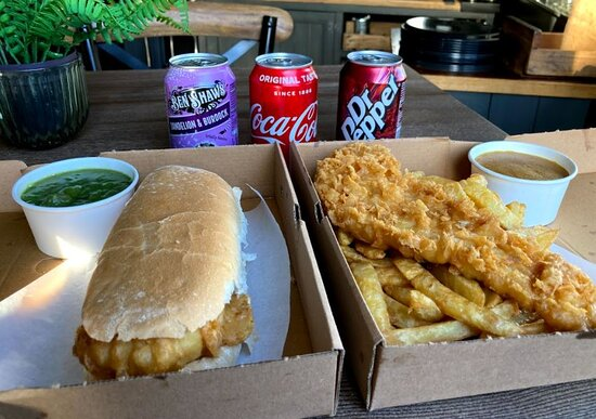 fish & chips to takeaway