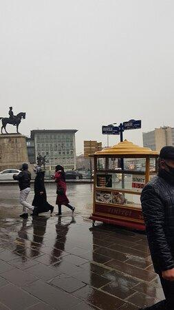 Equestrian Statue of Kemal Ataturk