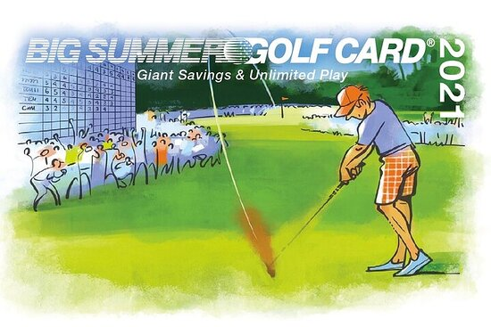 2021 Big Summer Golf Card