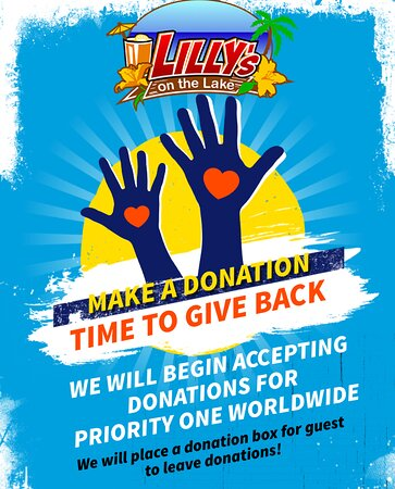 Sharing time. Let's support together: Priority One Worlwide