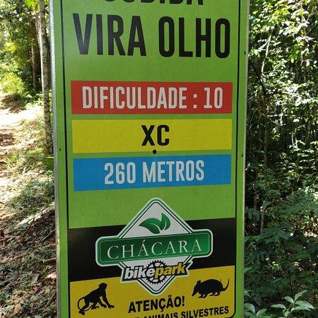 Santana dos Montes, MG: Trilhas do bike park chácara.