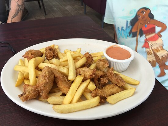 Kids meal - chicken fingers and fries