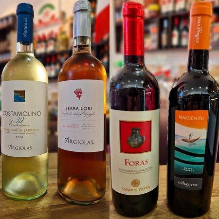 Vino from Sardegna
