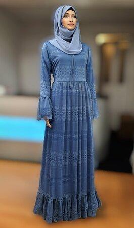 Lace Abaya fully lined