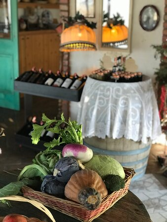 Freshly Harvested Produce - Fustanella's Best Dish is the Organic Produce