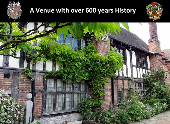 Henley in Arden, UK: Henley-in-Arden Guild Hall and Gardens available for private hire. Gardens open to the public