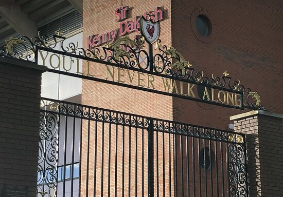 Shankly Gates, Anfield Stadium - home of Liverpool FC