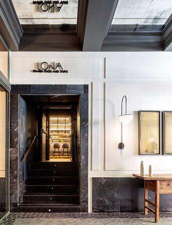 LONA entrance