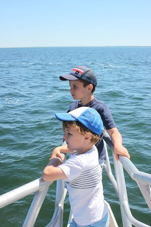 PRIVATE CHARTER : Ocean to Plate - A Taste of the Seafood Frontier: boys