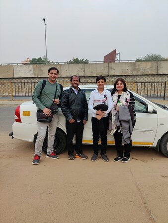 Rajasthan Private Tour By Car: With our Driver Ganesh Nath and Car (Toyota Etios) at Jaipur, Rajasthan