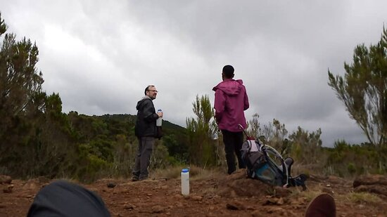 Mountain Kilimanjaro Day Hike: a break