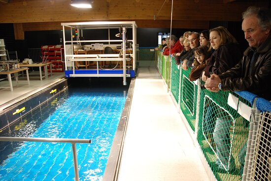 """Circuit """"Objectif pêche durable, la station Ifremer de Lorient"""" Crédit: Robert Le Gall - Maison de la Mer"""