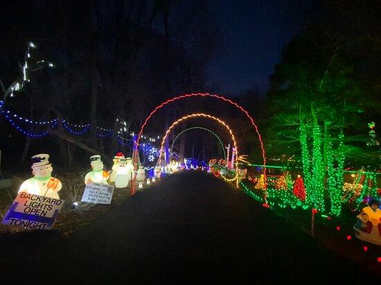 Covered Bridge Farms Christmas Lights