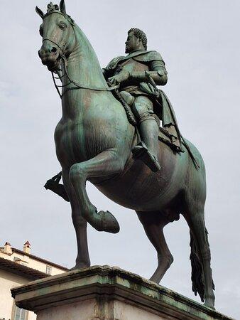 Florence, Italy: Monumento equestre a Ferdinando I - 2