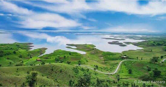 The city of 100 Island  Banswara district of rajsthan india