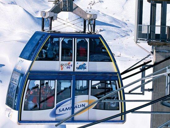 Bergbahnen Samnaun