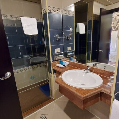 Room with king size bed on second floor. Always sparkling clean, always tidy. Thank you Muhammad! Room has allrequred amenities and great poolside view. I would recommend to book a room on second floor because of mosquitoes