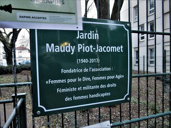 Παρίσι, Γαλλία: Panneau explicatif