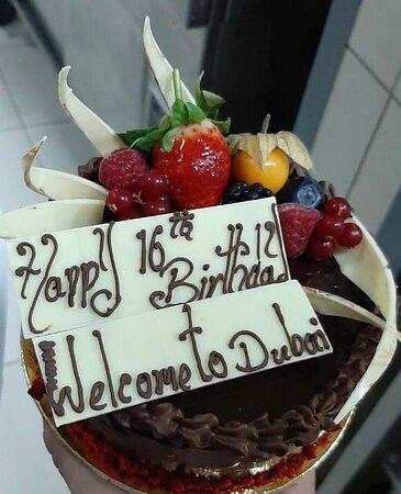 Surprise cake !!