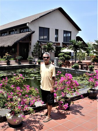 "At ""Palm Garden Resort"" in Hoi An."