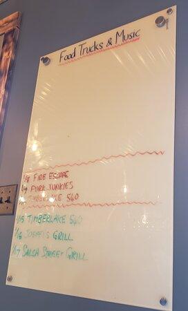 Food Truck Schedule!!