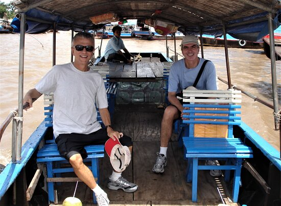 Mekong Delta's My Tho by Boat: Visiting the Mekong River Delta's in My Tho.