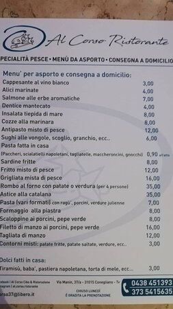 Al Corso Cibo & Ristorazione