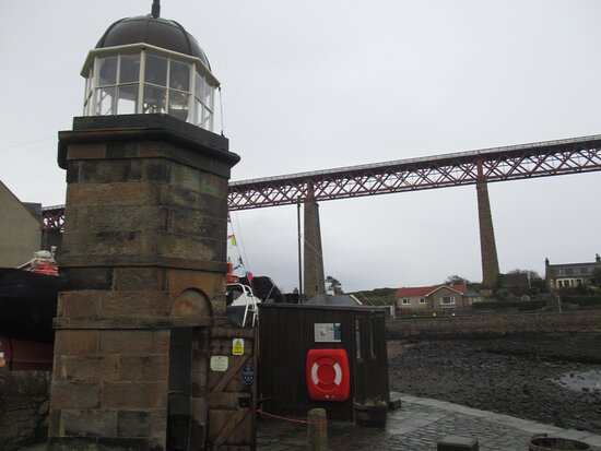 North Queensferry Harbour Light Tower.