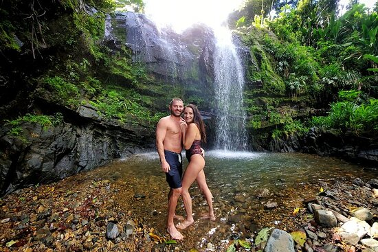 Mar Chiquita and Rain Forest Waterfalls hiking experience