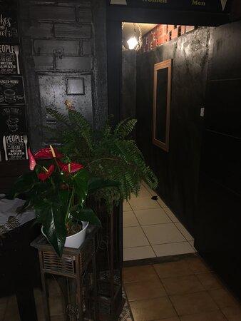 Ponta das Canas, SC: Imagens internas do restaurante