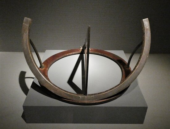 Equinoctal Dial and Gnomon (18th c) from India