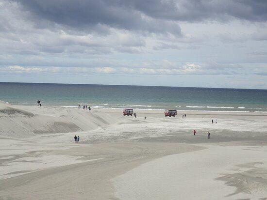 Sand dune alley