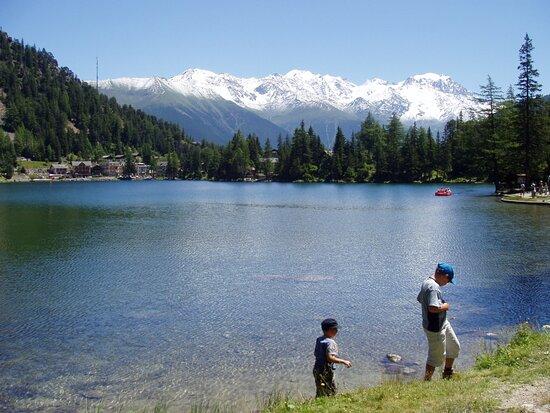 Lac Alpin De Champex