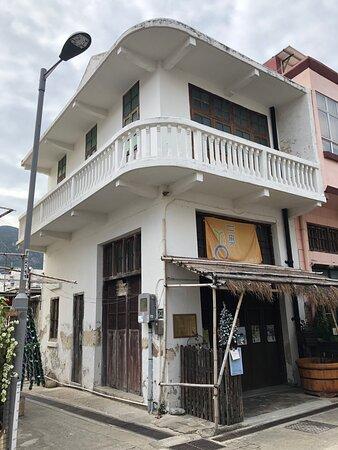 Historic Chinese shophouse in Tai O
